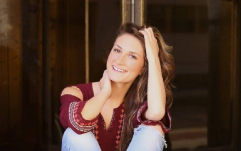 Emma Baker, kept alive with CPR for 45 minutes. Photo by Lelah Marie Photography.